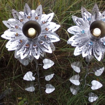 Ex Large Stainless Flowers